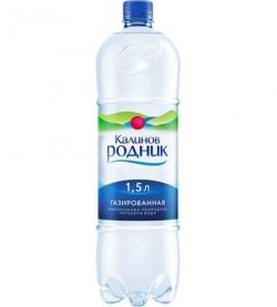 Вода Калинов Родник газированная 1,5л