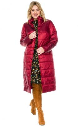 Пальто женское из плащевки большого размера