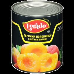 Лорадо Персики половинки 850мл (12) ж/б