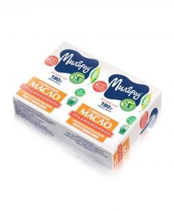 БМК Масло Традиционное 82,5% 180г (13) фольга