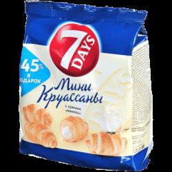 Чипита 7DAYS Круассаны Мини Ваниль 105г (18)