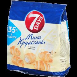 Чипита 7DAYS Круассаны Мини Ваниль 300г (10)