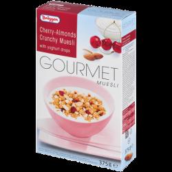 Брюгген Мюсли Gourmet Cherry-Almonds 375г (8)