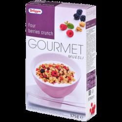 Брюгген Мюсли Gourmet Four Berries Crunch 375г (8)