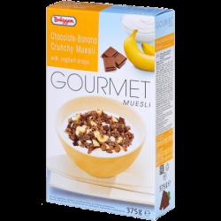 Брюгген Мюсли Gourmet Banana-Chocolate 375г (8)