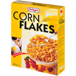Брюгген Хлопья Corn Flakes 250г (18)