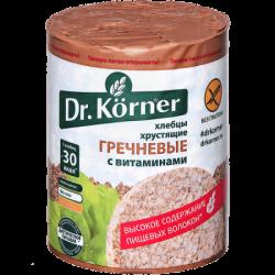 Dr.Korner Хлебцы Гречневые с Витаминами 100г (20)