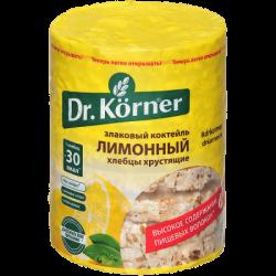 Dr.Korner Хлебцы Злаковый коктейль Лимонный 100г (20)