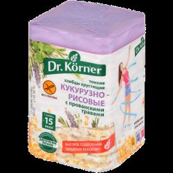 Dr.Korner Хлебцы Кукурузно-Рисовые Прованс травы 100г (20)