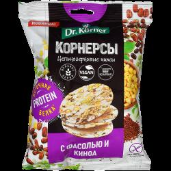 Dr.Korner Чипсы Кукурузно-Рисовые гор/фас/киноа 50г (14)