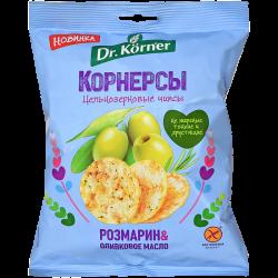 Dr.Korner Чипсы Кукурузно-Рисовые Розмарин 50г (28)