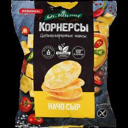 Dr.Korner Чипсы Кукурузно-Рисовые Сыр Начо 50г (28)