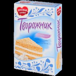 Русская нива Торт Творожник Классический 340г (12)