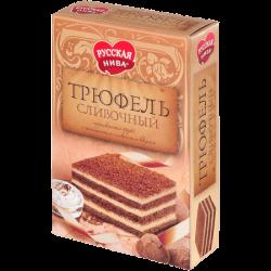 Русская нива Торт Трюфель Сливочный 400г (12)