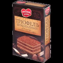 Русская нива Торт Трюфель Шоколадный 400г (12)