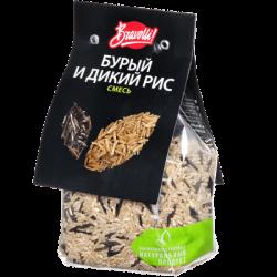 Bravolli Смесь бурый и дикий рис 350г (11)
