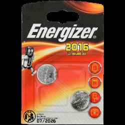 ENR Батарейка CR 2016 Литий 3V 2шт (10)