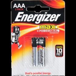 ENR Батарейка MAX AAA E92 Алкалин 1.5V 2шт (12)