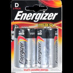 ENR Батарейка MAX D E95 Алкалин 1.5V 2шт (12)