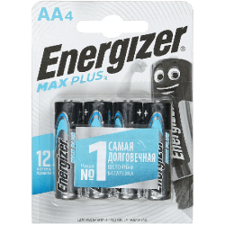 ENR Батарейка Max Plus AA E91 Алкалин 1.5V 2шт (12)