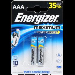 ENR Батарейка Max Plus AA E91 Алкалин 1.5V 4шт (24)