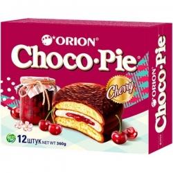 """ORION Конд изделие """"Choco Pie Cherry"""" 12шт*30г (8)"""