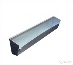 Кормушка для перепелов подвесная металлическая 80 см