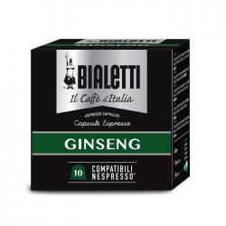 Кофе Bialetti GINSENG в капсул д/кофемаш Nespresso 10шт (18)