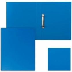 """Папка на 2 кольцах ESSELTE """"Standard"""", синяя, до 190 листов"""
