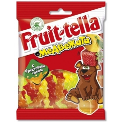 PERFETTI van MELLE ФТ Мармелад Медвежата 70г (30) пакет