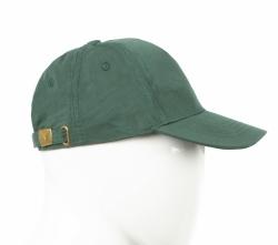 Бейсболка хлопковая зеленая