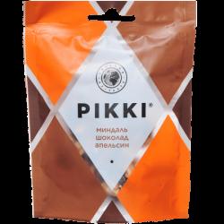 PIKKI Фрукт-орех конф (crunch) Минд/ Шок/ Апельс 50г(13)п/э