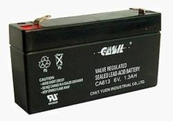 Аккумулятор АКБ 613 CASIL (6V 1,3Ah) свинцово - кислотный