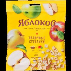 Яблоков Яблочн сухарики 25г (50)п/э