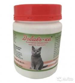 Витаминно-минеральный комплекс для кошек 200 гр 18%