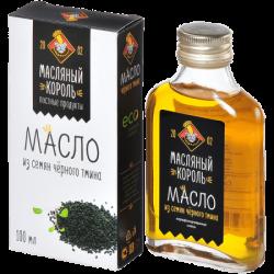 МаслКороль Масло из семян черного тмина 100мл (20)ст/б