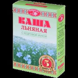 Добрый Лён Каша льняная с кедровой мукой  400г (20)К