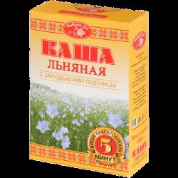 Добрый Лён Каша льняная с зародышами пшеницы 400г (20)К