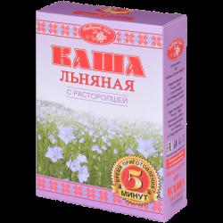 Добрый Лён Каша льняная  с расторопшей  400г (20)К