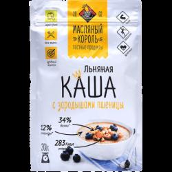 МаслКороль Каша льняная с зародышами пшеницы 300г (20)М/У