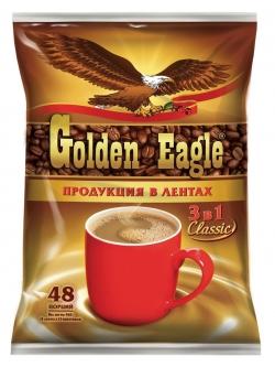 ЮТК Кофейный напиток Golden Eagle Classic 10пак*20г (50) м/у