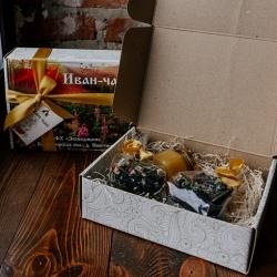 Подарочная коробка Иван-чай + мёд/варенье