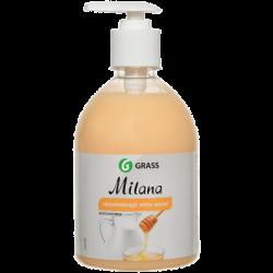 GraSS Жидкое крем-мыло Milana молоко/мед 500 мл (15)