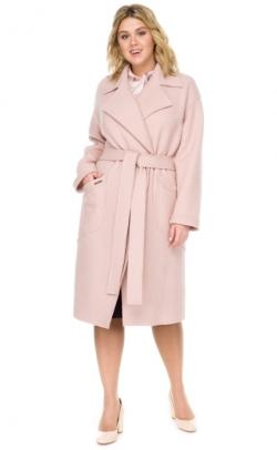 Женское пальто большого размера