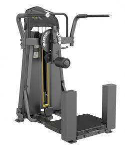 Тренажер DHZ Отведение/приведение ног стоя. Махи ногами Е-3011 стек 94 кг