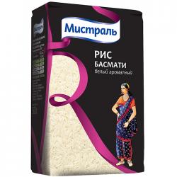 Рис Мистраль Басмати белый ароматный 3х500г