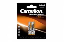 Аккумулятор Camelion ААA 600mA(Ni-Mh)2бл