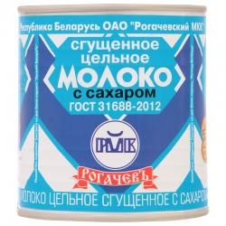 Рогачевъ Молоко сгущенное цельное 8,5% ГОСТ 380г(30) ж/б
