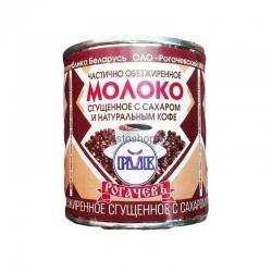 Рогачевъ Молоко част обез сгущенн с Кофе 7% 380г(30)ж/б