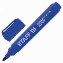 Маркер перманентный (нестираемый) STAFF, синий